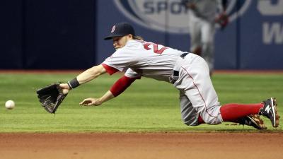 Boston Red Sox infielder/outfielder Brock Holt