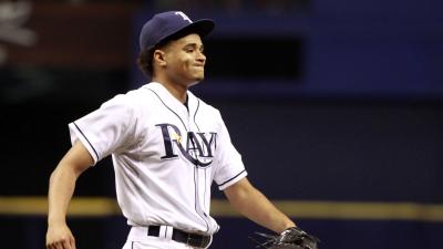 Tampa Bay Rays pitcher Chris Archer