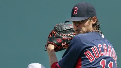 Boston Red Sox pitcher Clay Buchholz