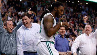 Boston Celtics forward Jae Crowder