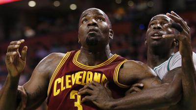Cleveland Cavaliers center Kendrick Perkins