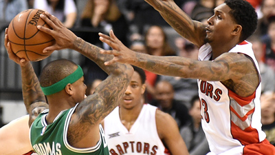 Toronto Raptors guards Lou Williams