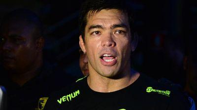 UFC fighter Lyoto Machida looks on