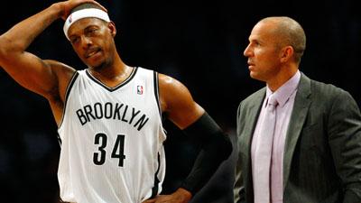 Brooklyn Nets small forward Paul Pierce
