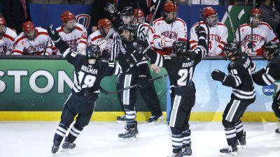 Providence celebrates beating BU