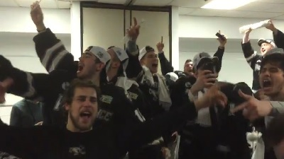 Providence College hockey singing