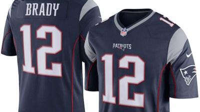 New Patriots jersey