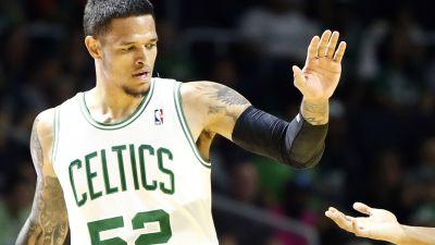 Boston Celtics guard Chris Babb