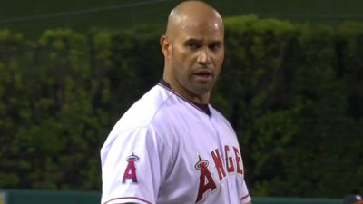 Angels first baseman Albert Pujols