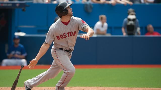 Boston Red Sox catcher Blake Swihart