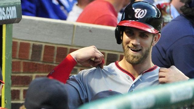Washington Nationals right fielder Bryce Harper