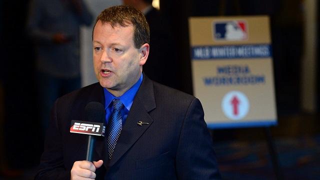 ESPN baseball analyst Buster Olney