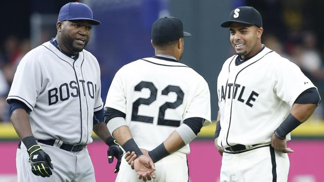 David Ortiz, Nelson Cruz and Robinson Cano