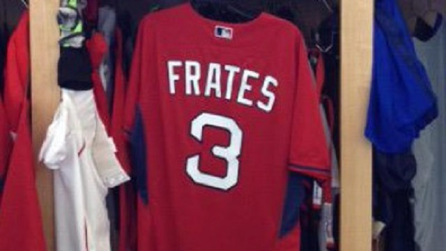 Pete Frates Red Sox jersey