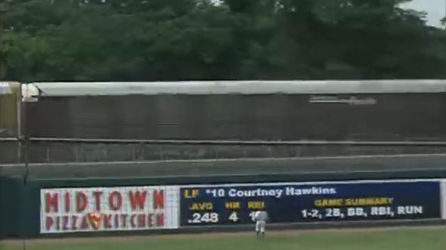 White Sox prospect hits train with home run