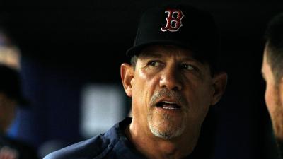 Boston Red Sox pitching coach Juan Nieves