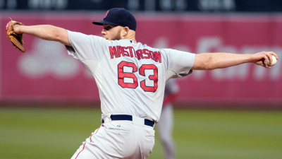 Boston Red Sox pitcher Justin Masterson