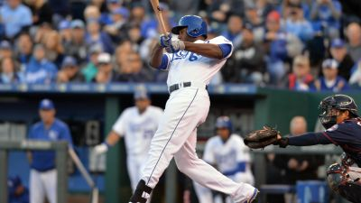 Royals outfielder Lorenzo Cain