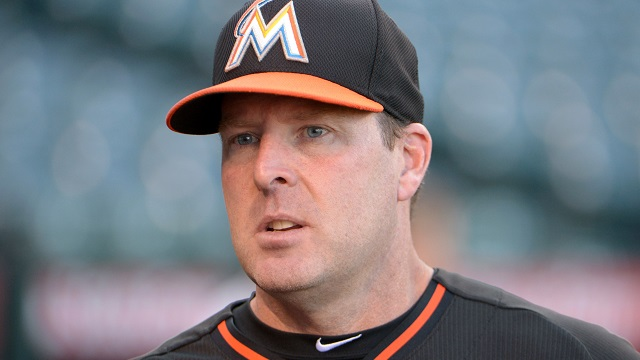 Miami Marlins manager Mike Redmond