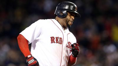 Boston Red Sox third baseman Pablo Sandoval