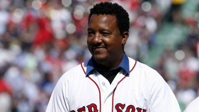 Former Boston Red Sox pitcher Pedro Martinez