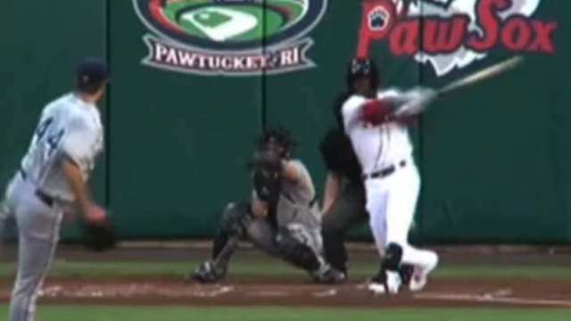 Boston Red Sox outfielder Rusney Castillo