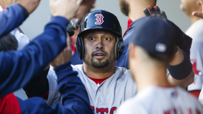 Boston Red Sox outfielder Shane Victorino