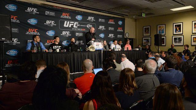 UFC 184 press conference