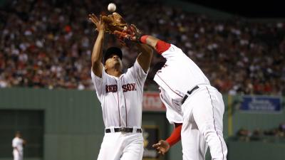 Boston Red Sox shortstop and third baseman Pablo Sandoval