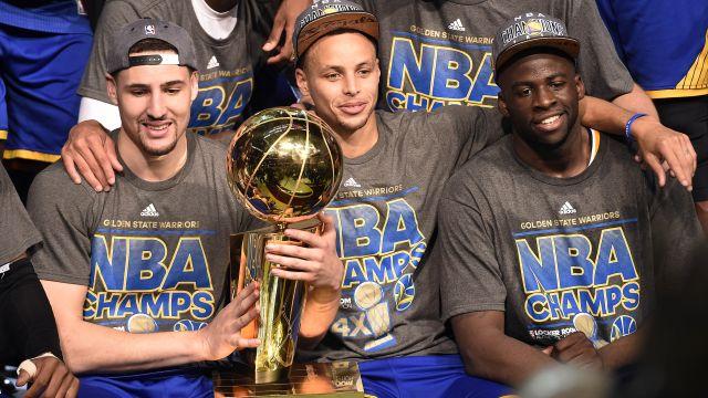 Golden State Warriors win NBA Finals over Cleveland Cavaliers