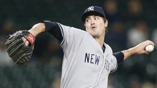 New York Yankees closer Andrew Miller