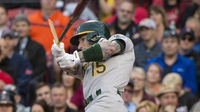 Oakland Athletics third baseman Brett Lawrie