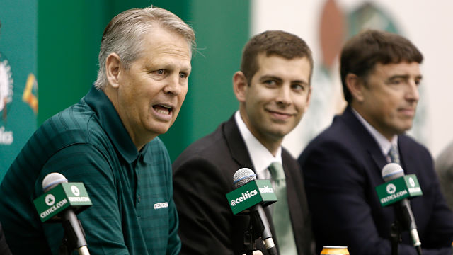 Boston Celtics general manager Danny Ainge
