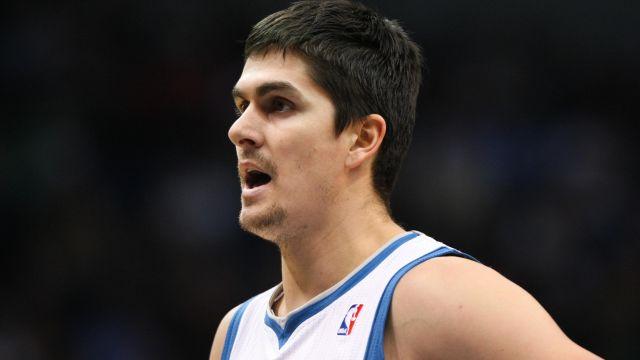 Former NBA player Darko Milicic