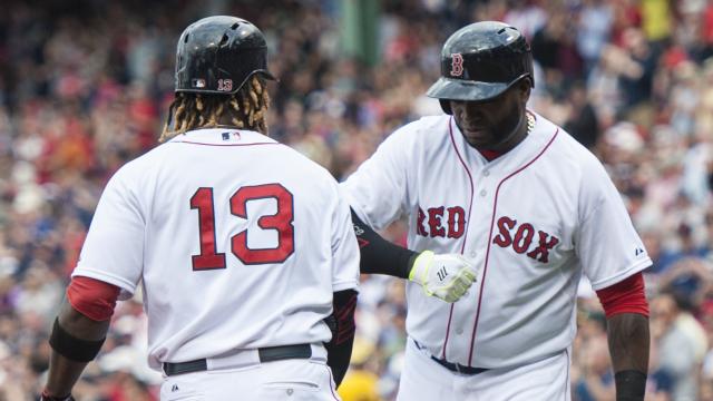 Boston Red Sox sluggers Hanley Ramirez and David Ortiz