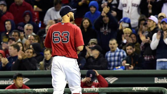 Boston Red Sox pitcher Justin Masterson