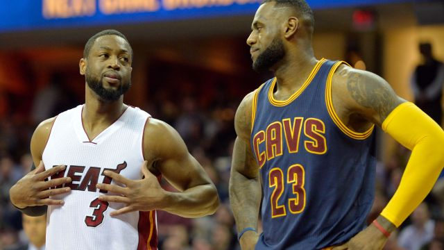 LeBron James, Dwyane Wade opt out of contracts