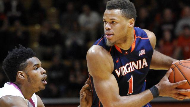 Virginia Cavaliers guard Justin Anderson