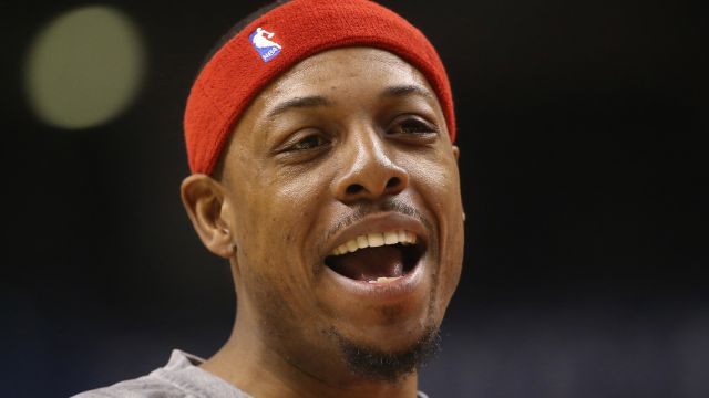 Washington Wizards forward Paul Pierce
