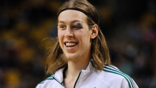 Boston Celtics center Kelly Olynyk