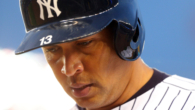 New York Yankees slugger Alex Rodriguez