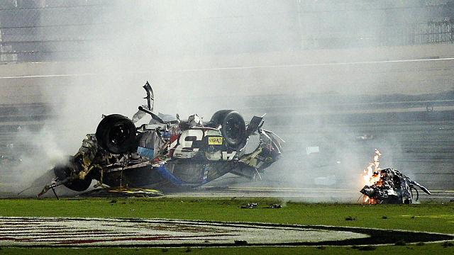 Austin Dillon wreck Daytona