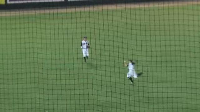 Reed Harper barehanded catch
