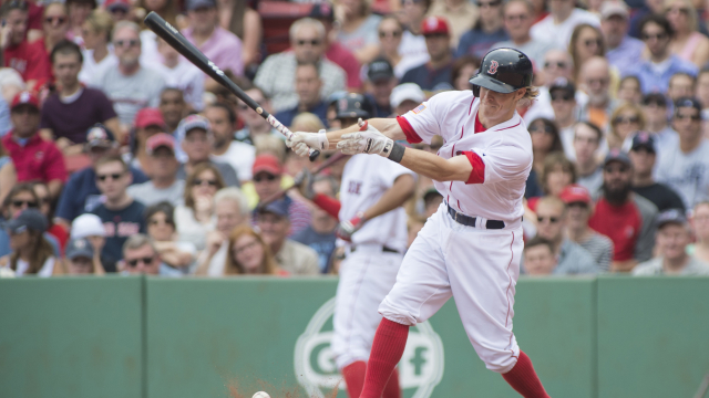 Boston Red Sox utility man Brock Holt