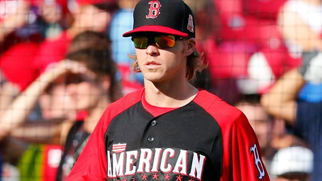 American League third baseman Brock Holt