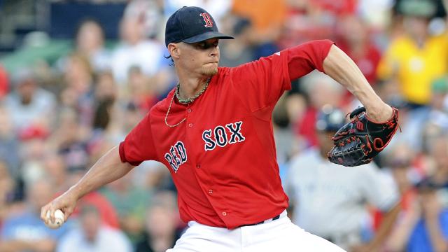 Boston Red Sox starter Clay Buchholz