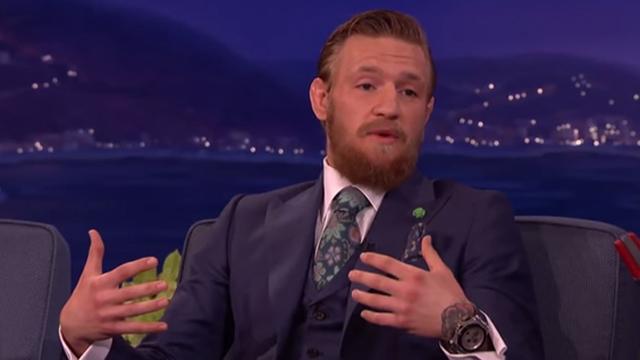 UFC featherweight Conor McGregor