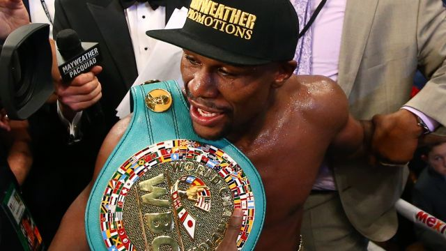 Mayweather stripped of title