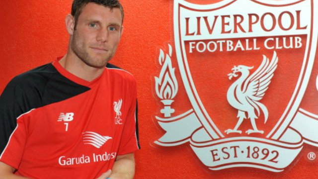 James Milner officially joins Liverpool from Manchester City
