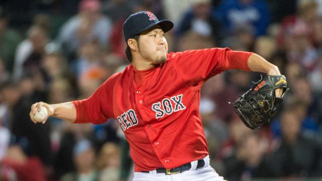 Boston Red Sox pitcher Junichi Tazawa